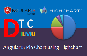 AngularJS Pie Chart dengan Highcharts
