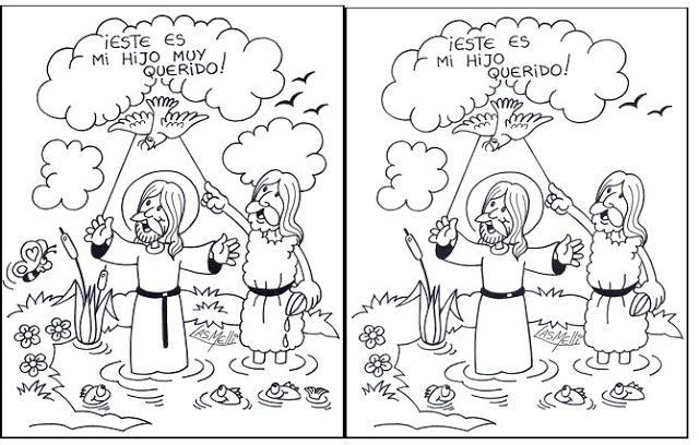 El blog de Religión: BAUTISMO DE JESÚS