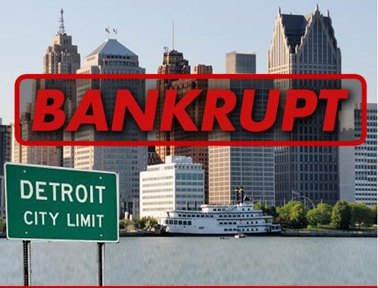 ΗΠΑ: Χρεοκόπησε ο δήμος του Ντιτρόιτ!