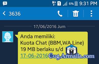 Paket BBM Gratis Telkomsel 10MB Setiap Hari