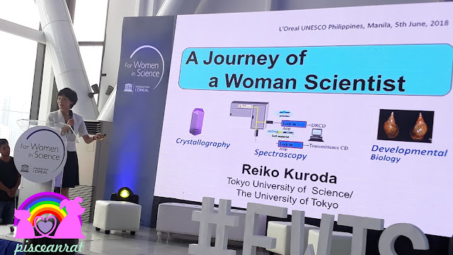 Dr. Reiko Kuroda was awarded the FWIS Global Laureate for Asia/Pacific in 2013.