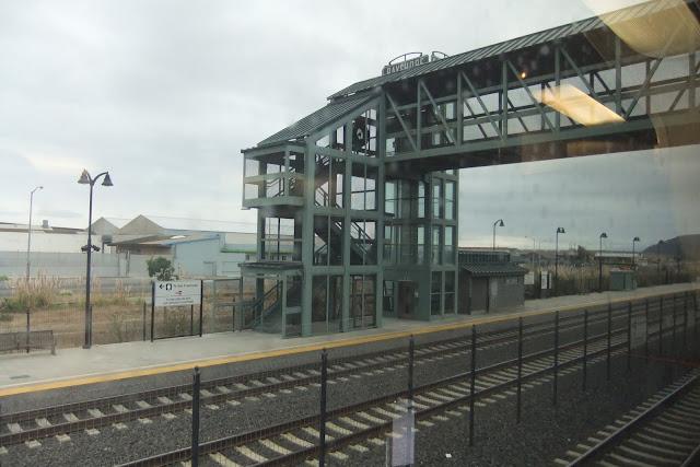 caltrain-station カルトレインの駅