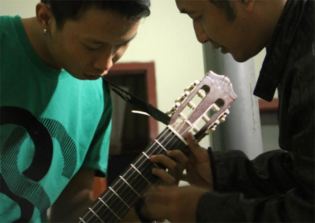 kunci melodi gitar