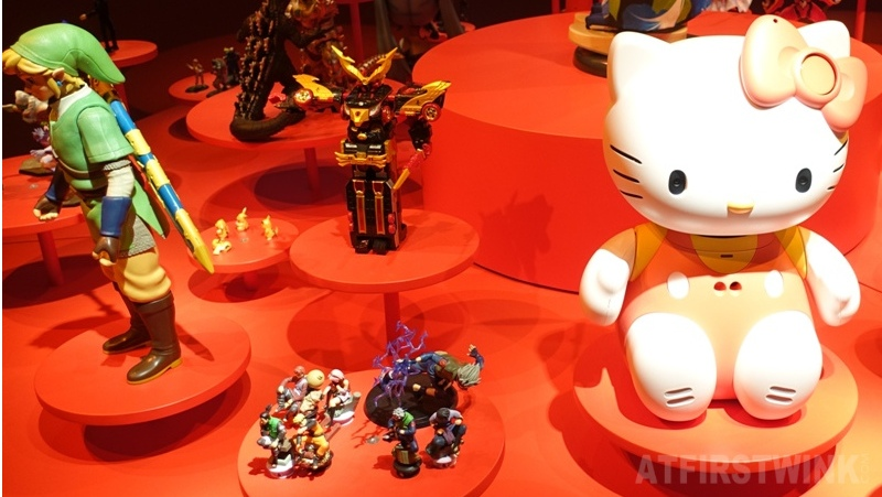 Cool Japan exhibit museum volkenkunde hello kitty zelda naruto pikachu