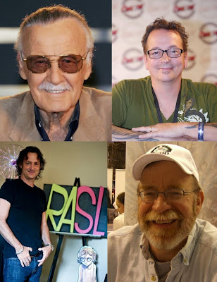 Comicpalooza 2015 Comic Book Guests - Stan Lee, Kevin Eastman, Jeff Smith & Walter Simonson