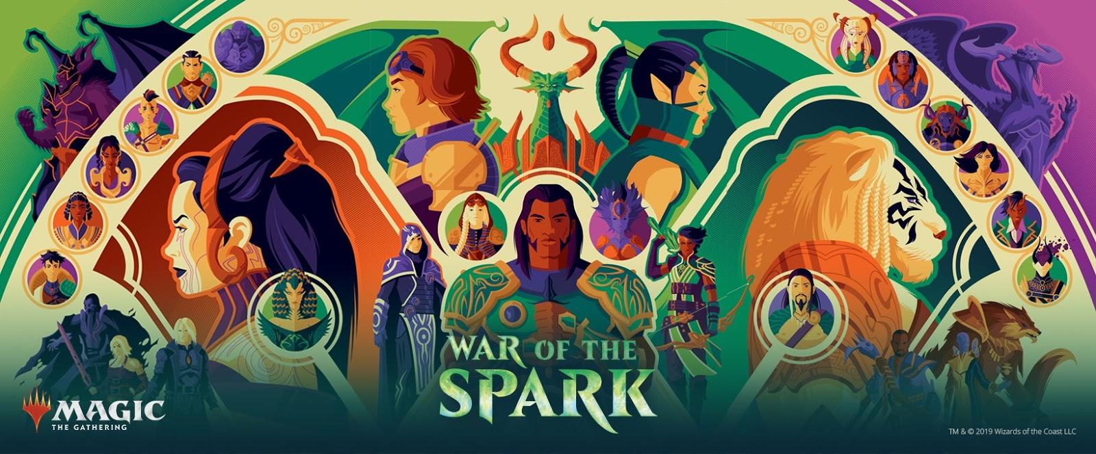 cc6835ac94d32 The Geeky Nerfherder: #CoolArt: 'Magic: The Gathering - War Of The ...