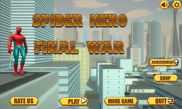 Spider Hero Final War MOD APK