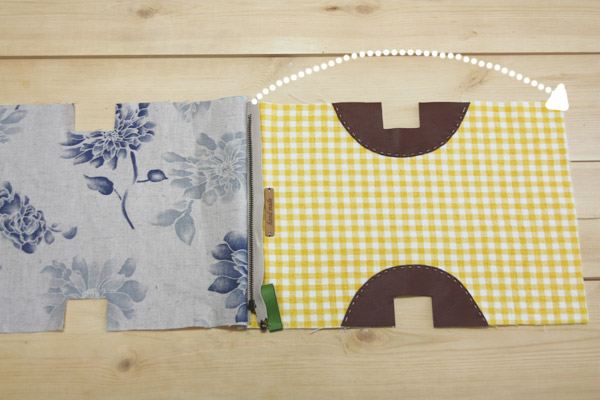 Easy Zippered Cosmetics Bag Pattern + DIY Tutorial in Pictures.