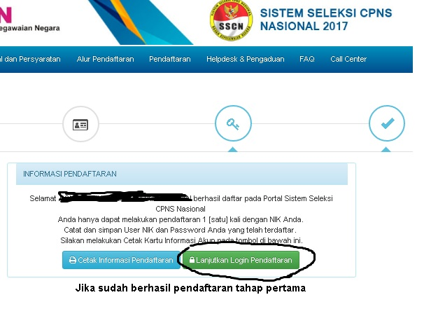 Sscn Bkn Pendaftaran Cpns 2018