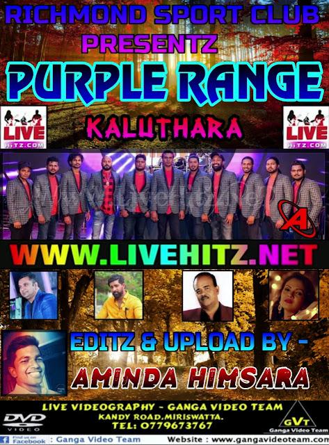PURPLE RANGE LIVE IN KALUTHARA 2018