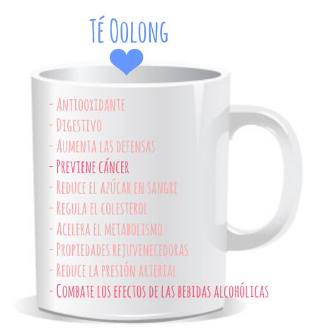té oolong propiedades