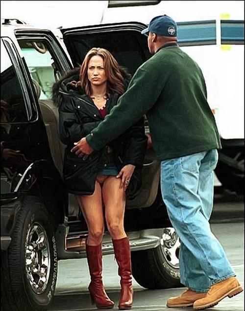 Jennifer Lopez Pussy Slip 7