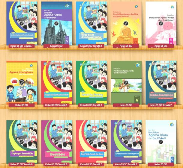 Buku Guru dan Buku Siswa Kelas 1 2 4 5 SD/MI Kurikulum 2013 Revisi Terbaru