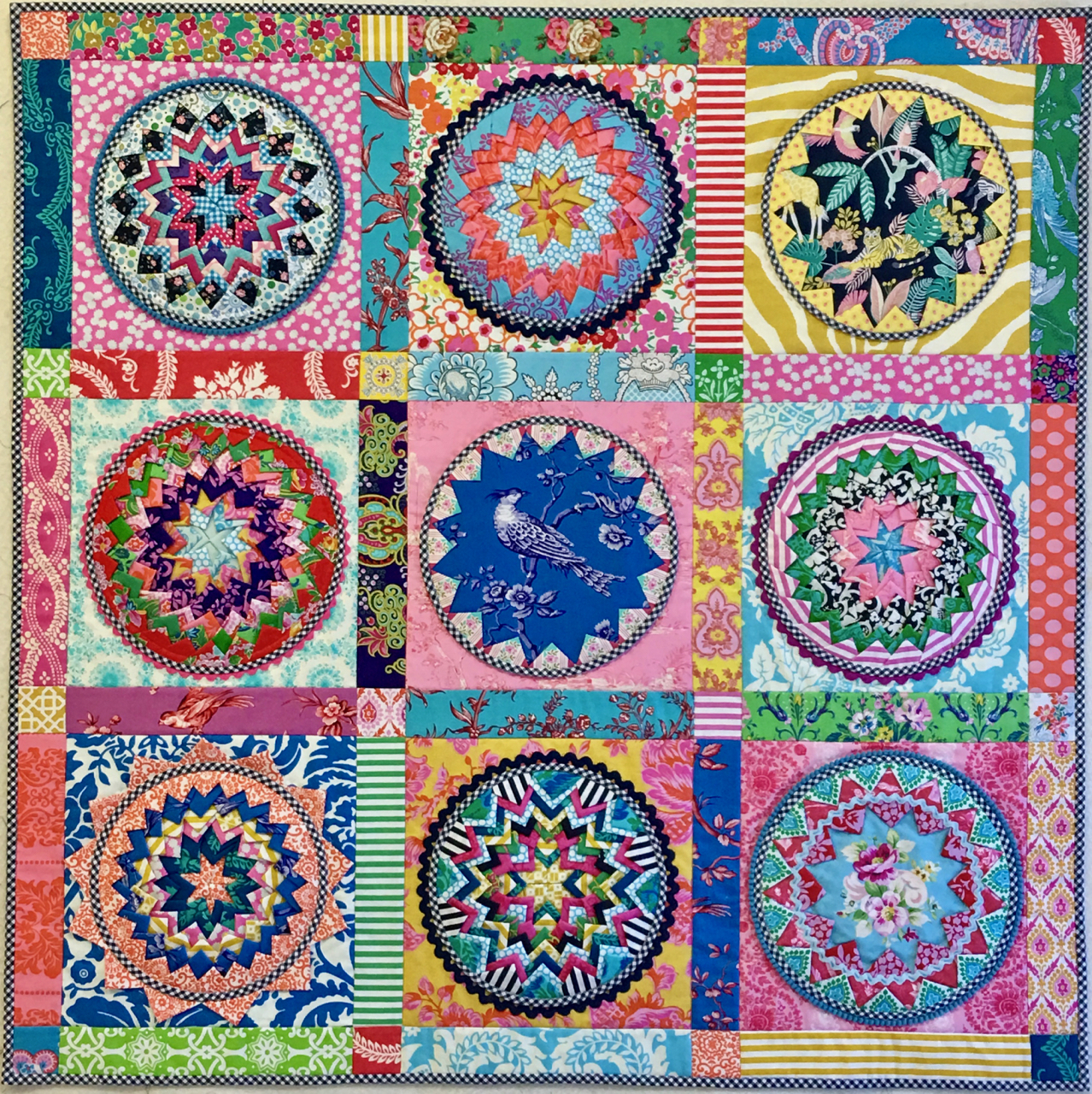 My Quilts! - Blue Mountain Daisy : quilt and craft show brisbane - Adamdwight.com