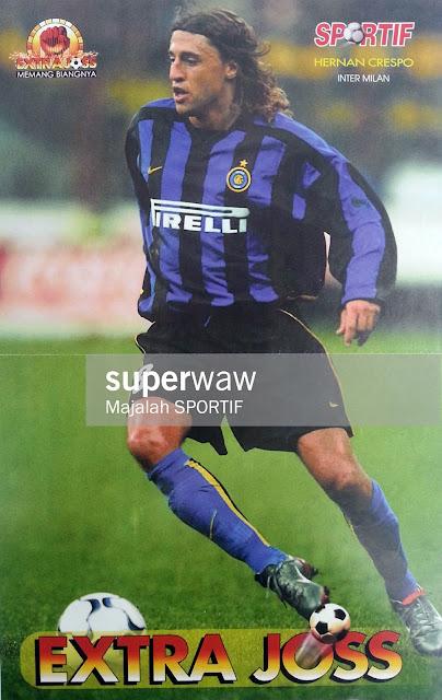 Hernan Crespo Inter Milan