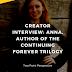 Cessation Blog Tour: Interview with Author Anna McAuley