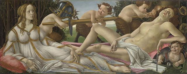 Venus y Marte, Boticelli