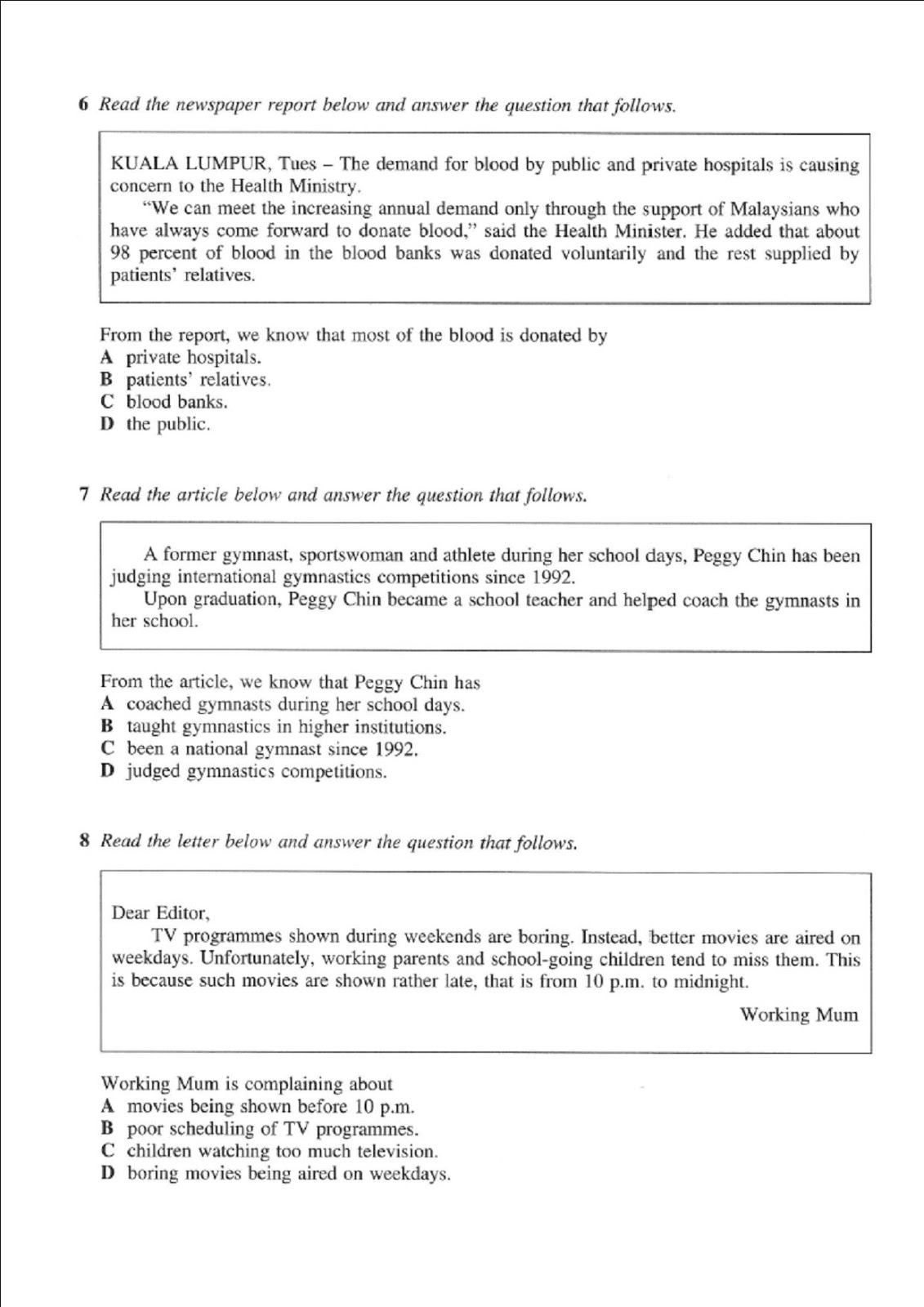 Contoh Essay Article Spm
