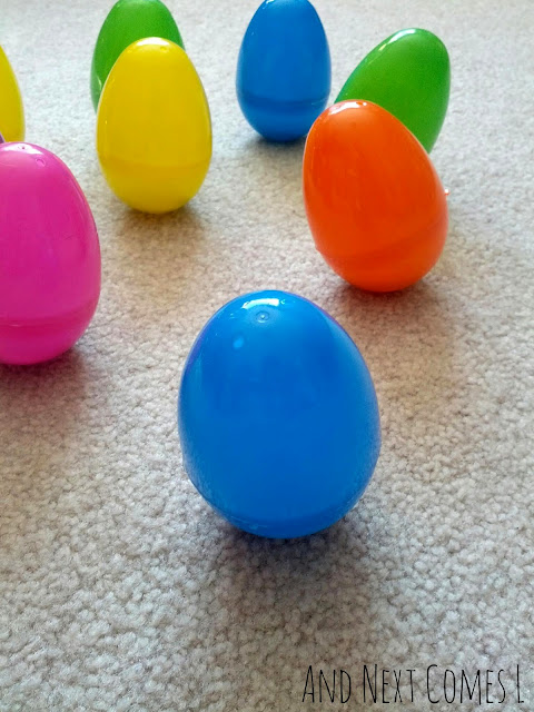 Wobbly Easter eggs from And Next Comes L