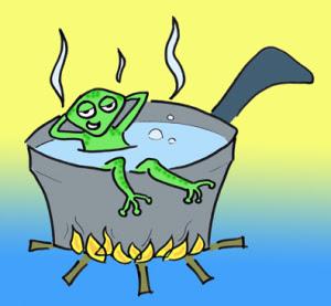Chuyên con ếch và bài học về sự thay đổi trước mọi hoàn cảnh
