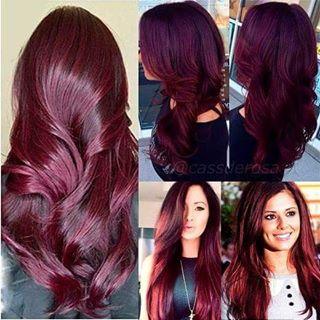 marsala cabelo ruivo