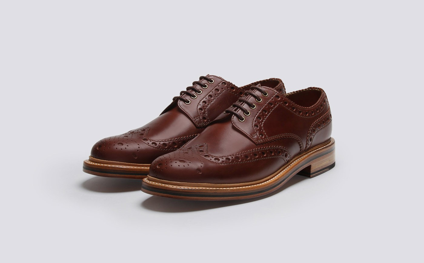 Cherry Leather Shoes