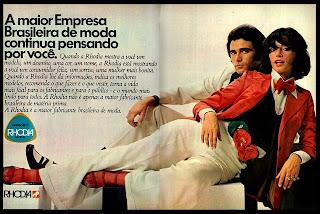 propaganda coleção moda Rhodia - 1972. Reclame moda 1972; Moda anos 70; propaganda anos 70; história da década de 70; reclames anos 70; brazil in the 70s; Oswaldo Hernandez