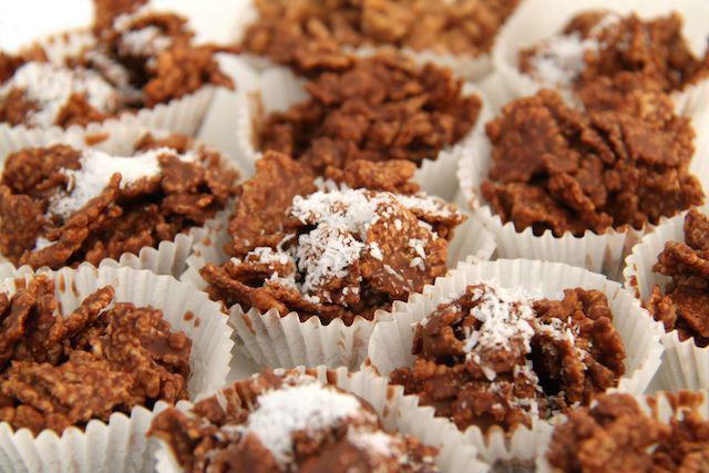 Recetas de solo 3 ingredientes: rosas del desierto o de chocolate