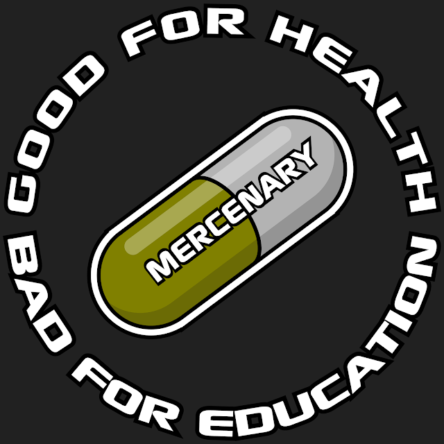 Mercenary Good For Health Tee - https://teespring.com/stores/mercenary-garage