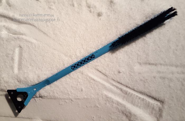 jääraappa skrapa skraba lumiharja pitkävartinen 74cm vs-harja 2016