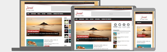 Jarid Resposive Blogger Template