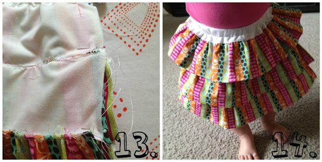 Baby Ruffle Skirt Tutorial