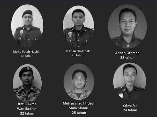 Kronologi 6 Anggota Bomba Lemas Ketika Operasi Menyelamat