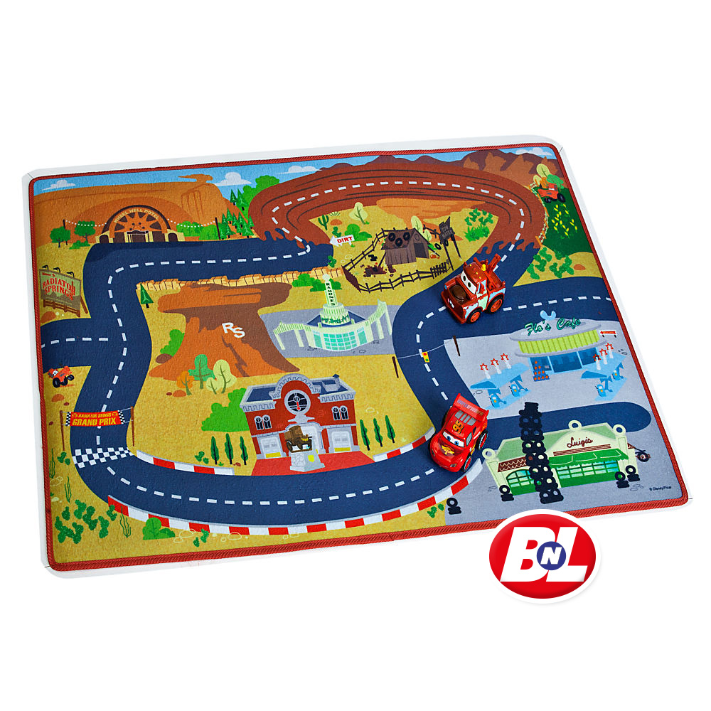 WELCOME ON BUY N LARGE: Cars: Play Mat & Vehicles Play Set