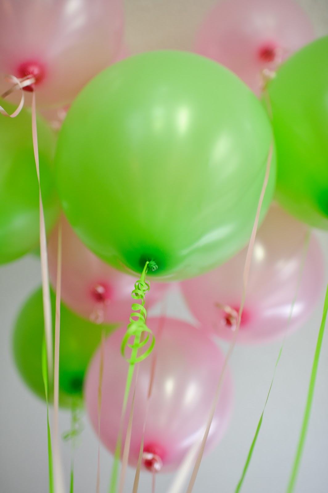 Lime Green And Pink Balloons Every Shower Needs
