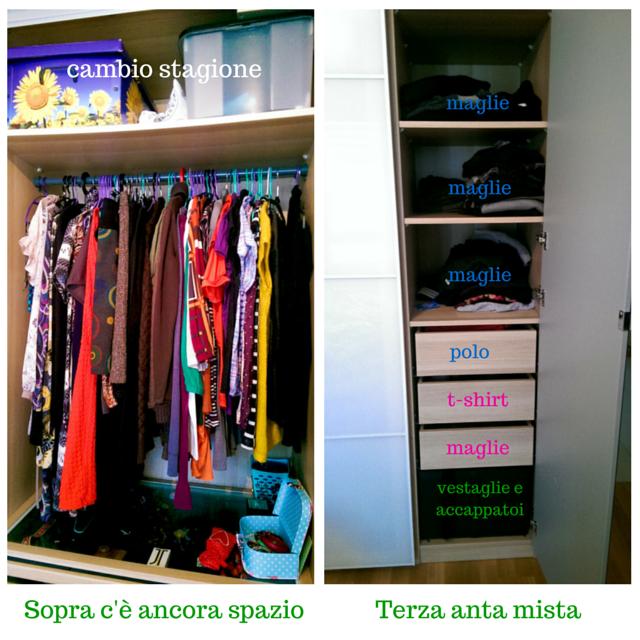 Nata disorganizzata come organizzare l 39 armadio - Organizzare le pulizie di casa quando si lavora ...