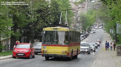 Trolejbus Škoda 14Tr #557, Lwów
