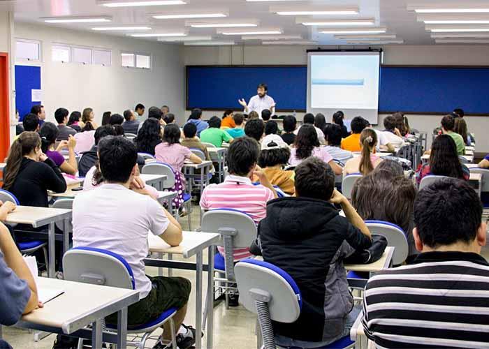 Sala de aula universitária