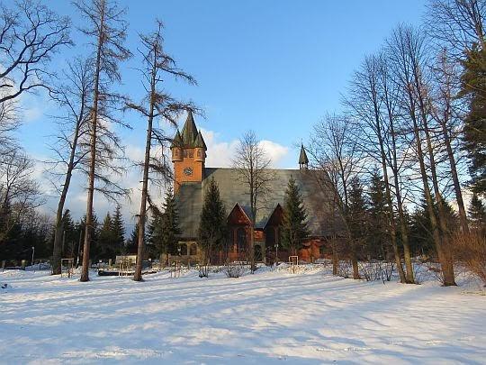 Kościół parafialny św. Marcina w Bystrej Podhalańskiej.