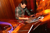 DJ spinning beats in a nightclub