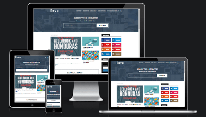 Best Responsive and Seo friendly blogger template: Adsense optimized blogspot template