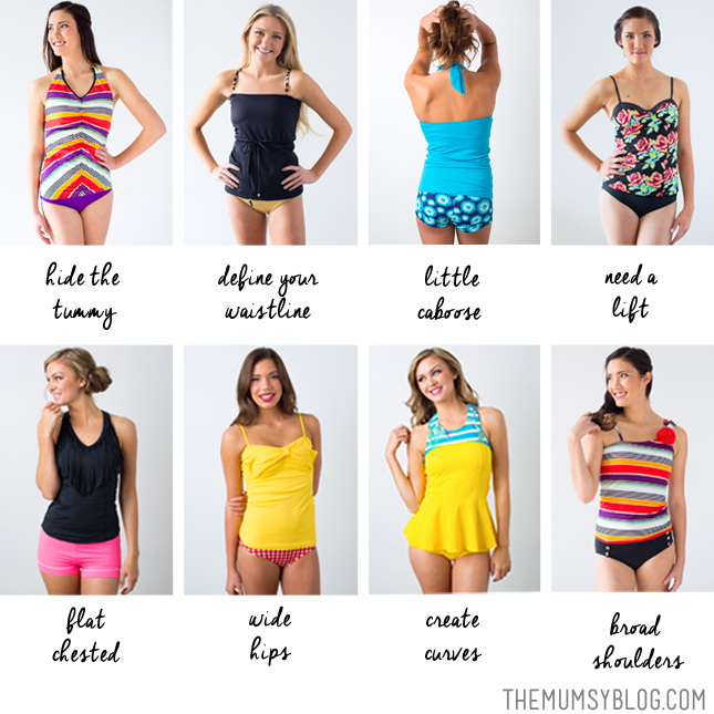 a1c5c893d7258 What Swimsuits Fit Best for Your Body Type | The Mumsy Blog