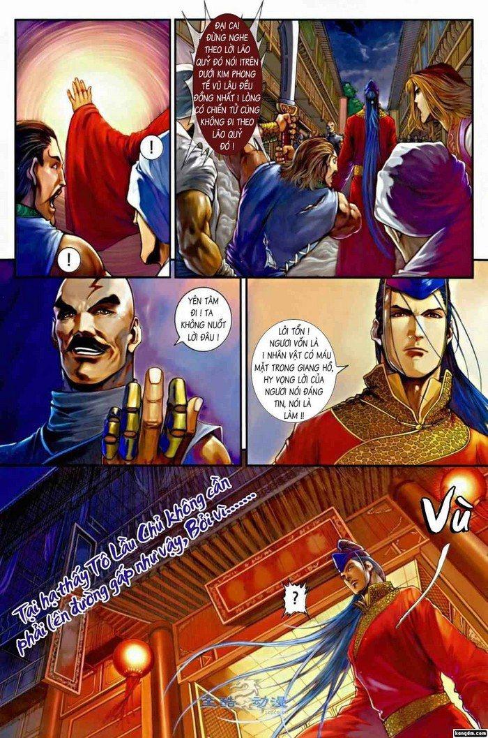 Ôn Thụy An Quần Hiệp Truyện chap 2 trang 28