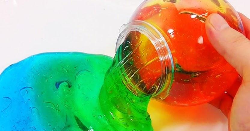 Manfaat Kesehatan: Cara Mudah Membuat Slime Dengan Lem Povinal