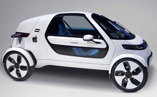 mobil apple 9 Mobil Canggih yang Bisa Jalan Sendiri