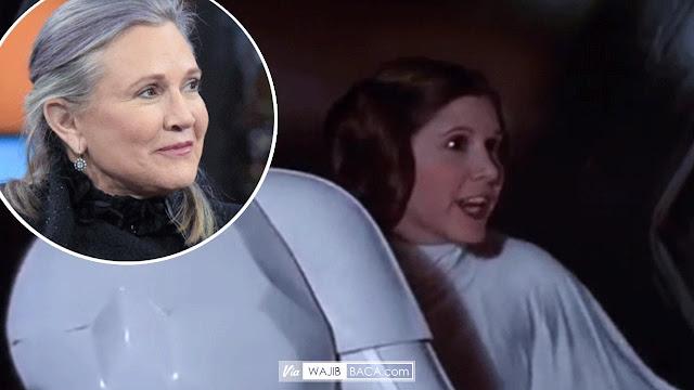 Star Wars Berduka, Sang Putri Leia Si Carrie Fisher Meninggal Dunia!