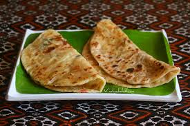 Cheesy Vegetable Paratha