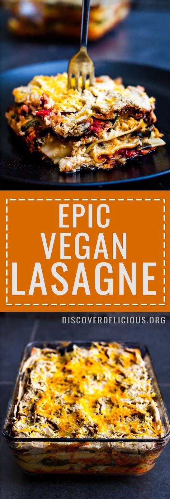 Vegan Lasagne #VEGAN #LASAGNA #PASTA