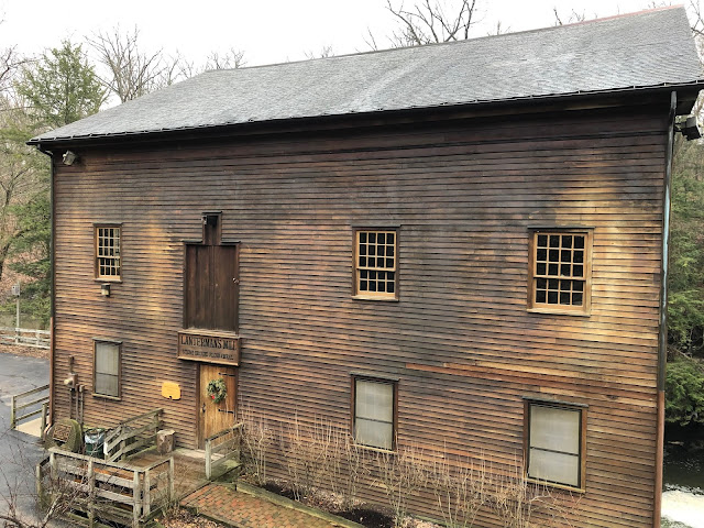 During open season, you can still go inside Lanterman's Mill a historic and working gristmill in Youngstown, Ohio.