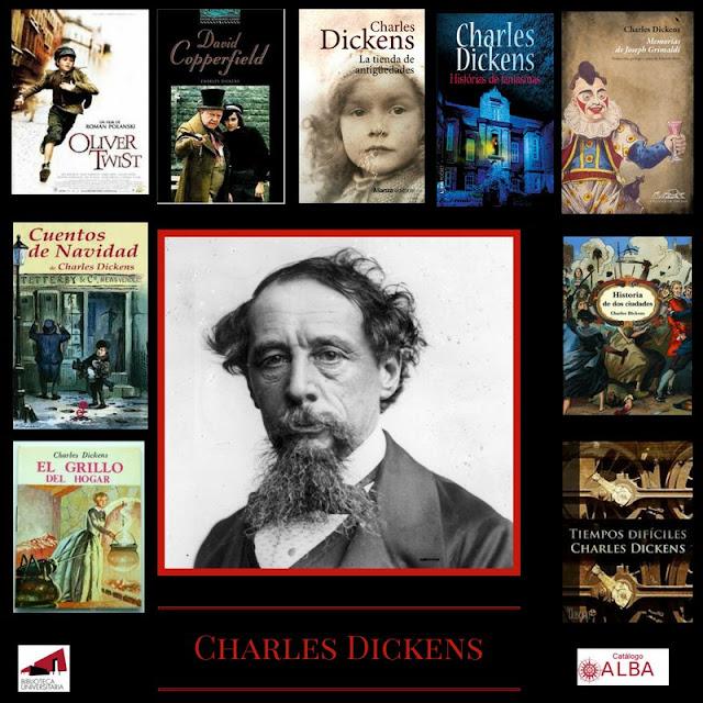 Charles Dickens en la BUM.
